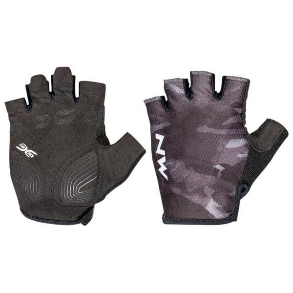 Northwave Skeleton Gloves Green Fluorescent L